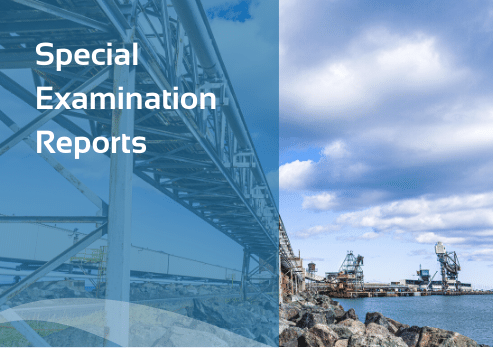 Special Examination Reports
